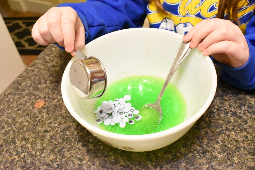 how to make alien slime