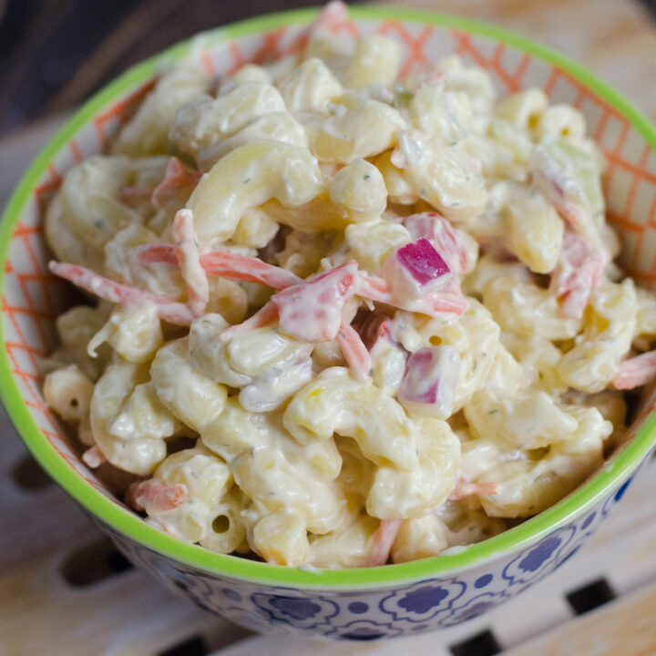 Creamy Classic Macaroni Salad