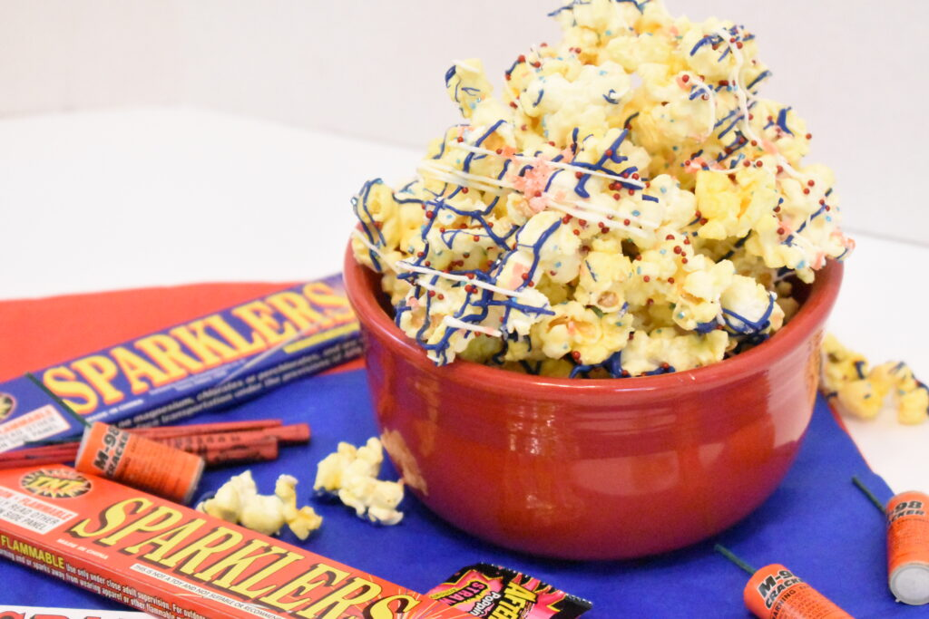 4th of July firecracker popcorn