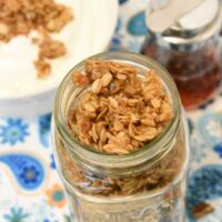 Honey Pecan Skillet Granola