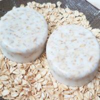 DIY Almond Oatmeal Soap