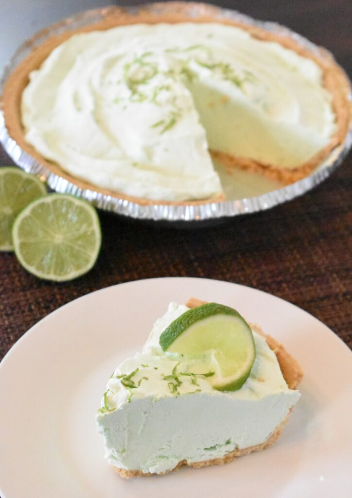 easy no-bake key lime pie