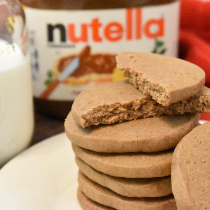 Chewy Nutella Cookies