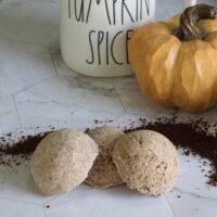 Pumpkin Spice Latte Bath Bombs