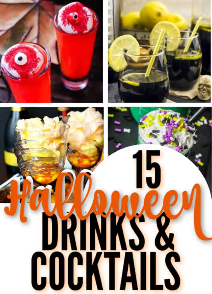 Halloween drinks and cocktails