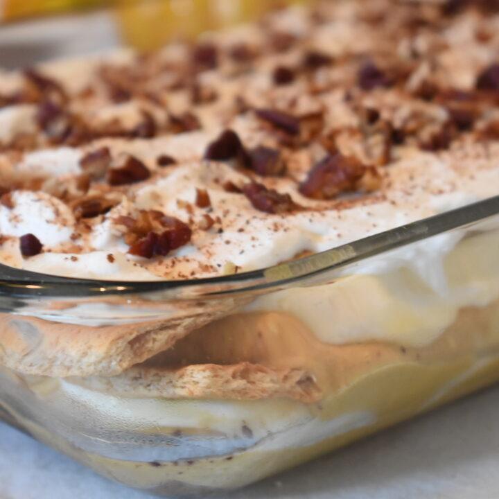 Pumpkin Dessert Lasagna