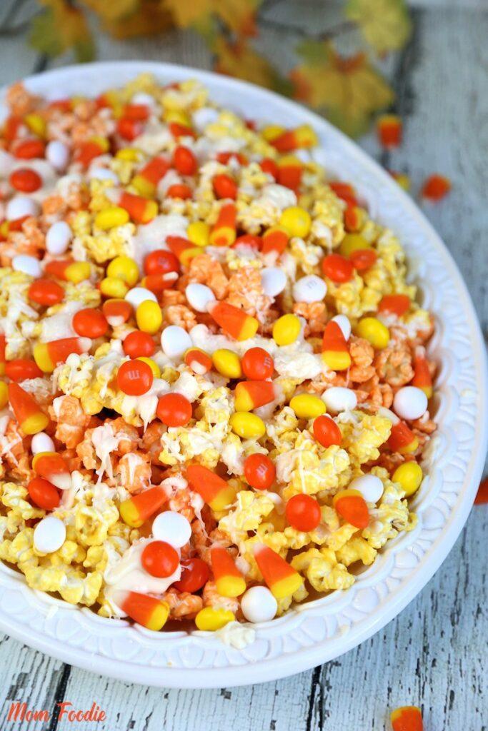Halloween Popcorn Candy Corn