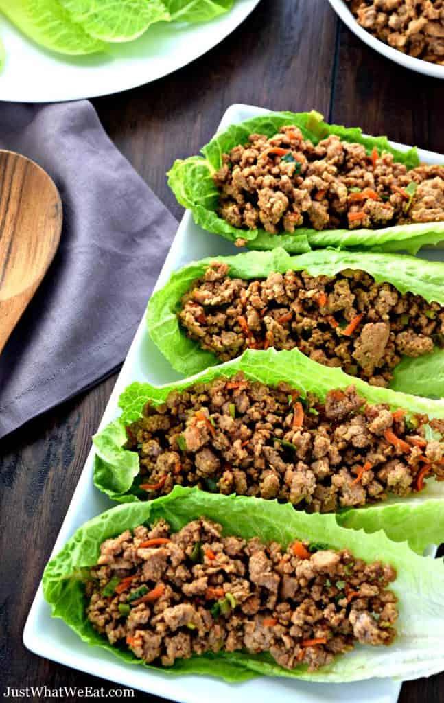 Asian Lettuce Wraps - Gluten Free, Dairy Free
