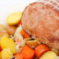 Easy Instant Pot Ham Recipe with Vegetables