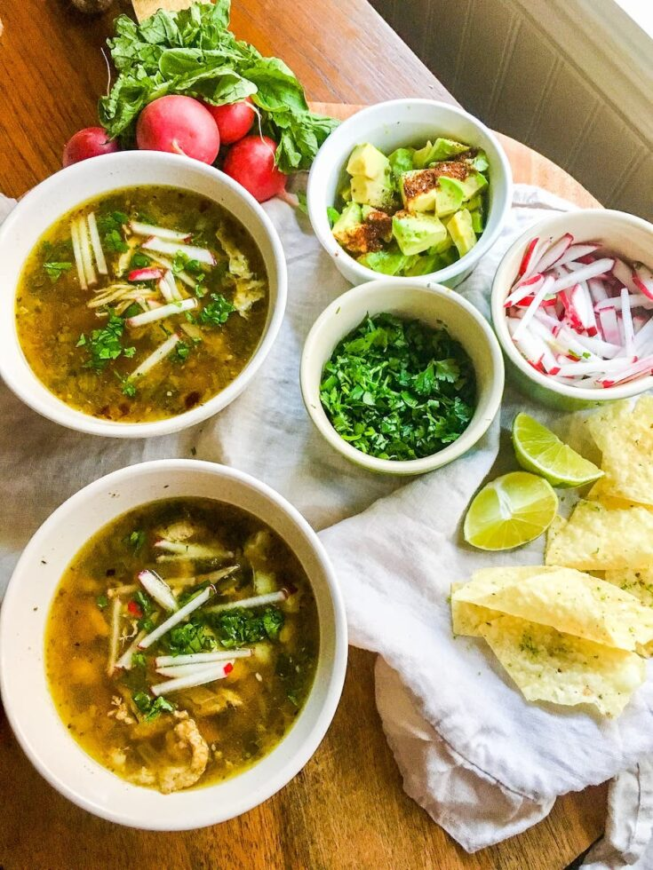 Instant Pot Chicken Posole