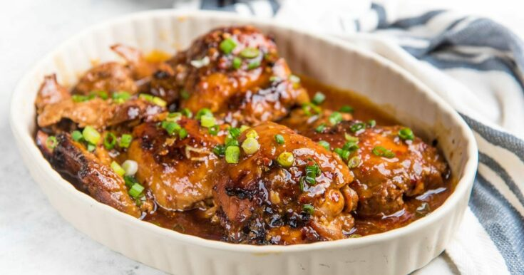 Instant Pot Honey Soy Chicken Thighs