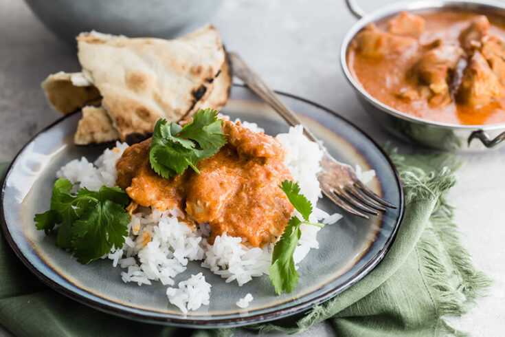 Pressure Cooker / Instant Pot Butter Chicken