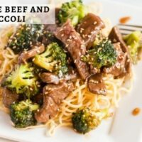 15 Minute Beef and Broccoli