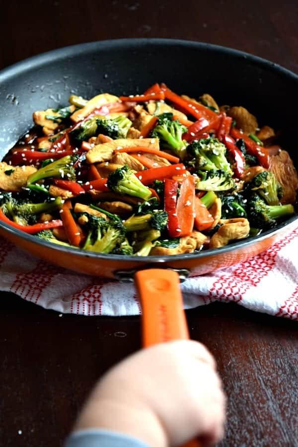 20 Minute Chicken Stir Fry