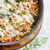 Healthy Sausage, Bean, and Kale Skillet [Gluten-free