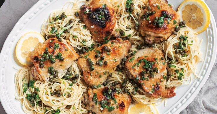 Instant Pot Frozen Chicken Piccata With Lemon & Capers