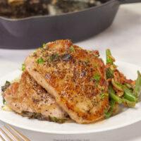 Easy Pan Seared Pork Chops