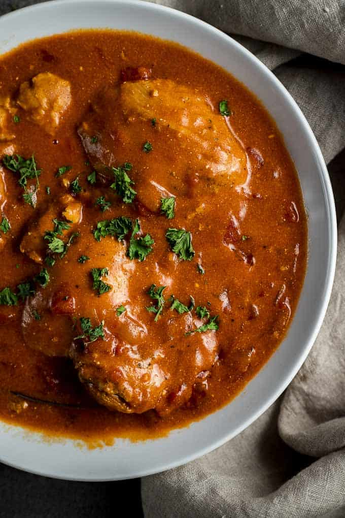 Instant Pot Chicken Paprika Recipe