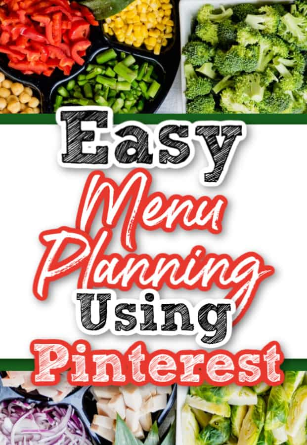 Menu Planning using Pinterest