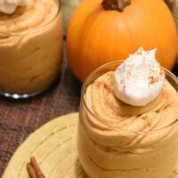 Pumpkin Mousse- Only 5 Ingredients