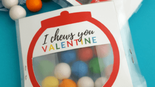 DIY Gumball Machine Valentines