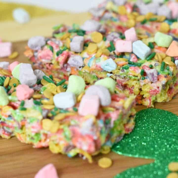 St. Patrick's Day Cereal Treats