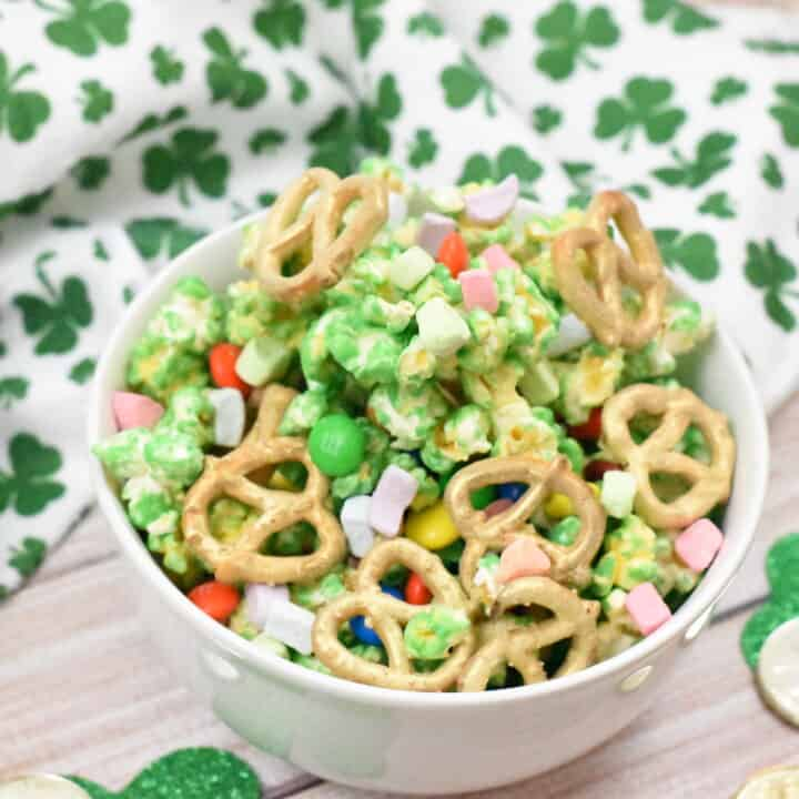 Leprechaun Bait St. Patrick's Day Snack Mix