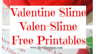 "Valentine Slime with Free Printable ""Valen-Slime"" Cards"