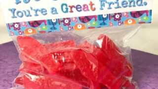 Swedish Fish Printable Valentine Toppers