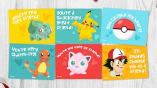 Free Printable Pokemon Valentines Cards Your Kids Will Be Begging For
