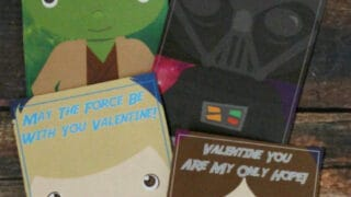 Spread The Love With Star Wars Valentines! {free printables}