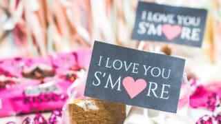 Cute Classroom Treats - Valentine S'mores