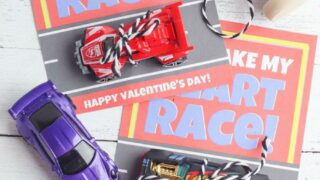 EASY DIY Hot Wheel Race Car Valentines For School – Classroom – Non Candy Valentines