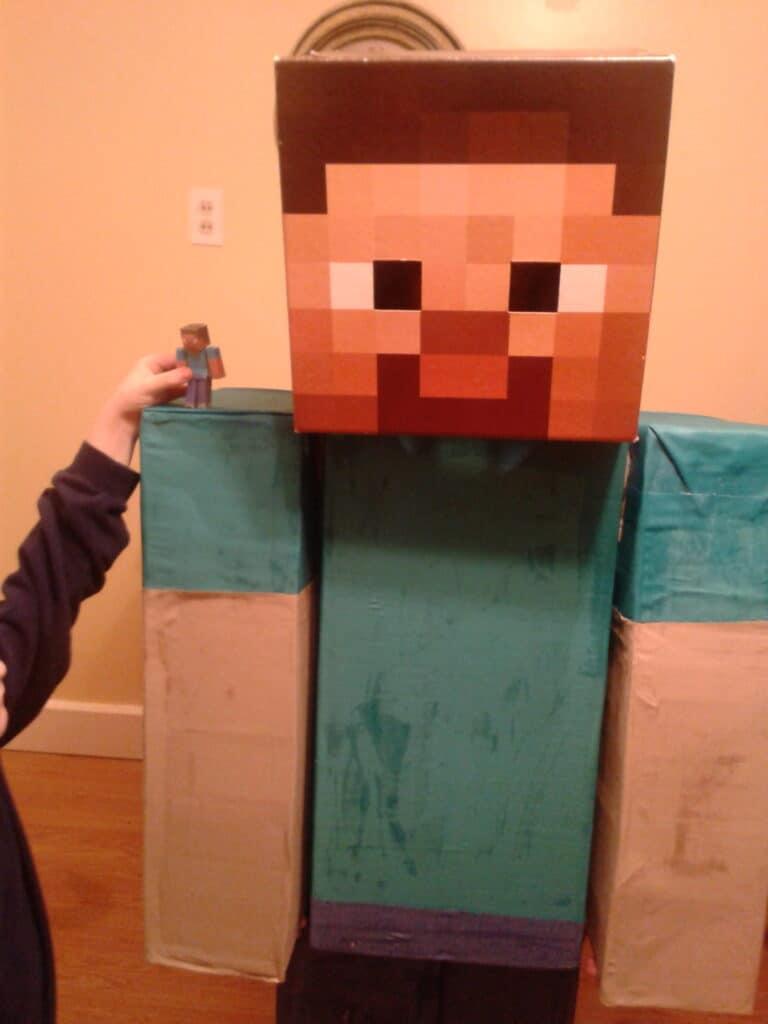Steve from Minecraft Halloween Costume
