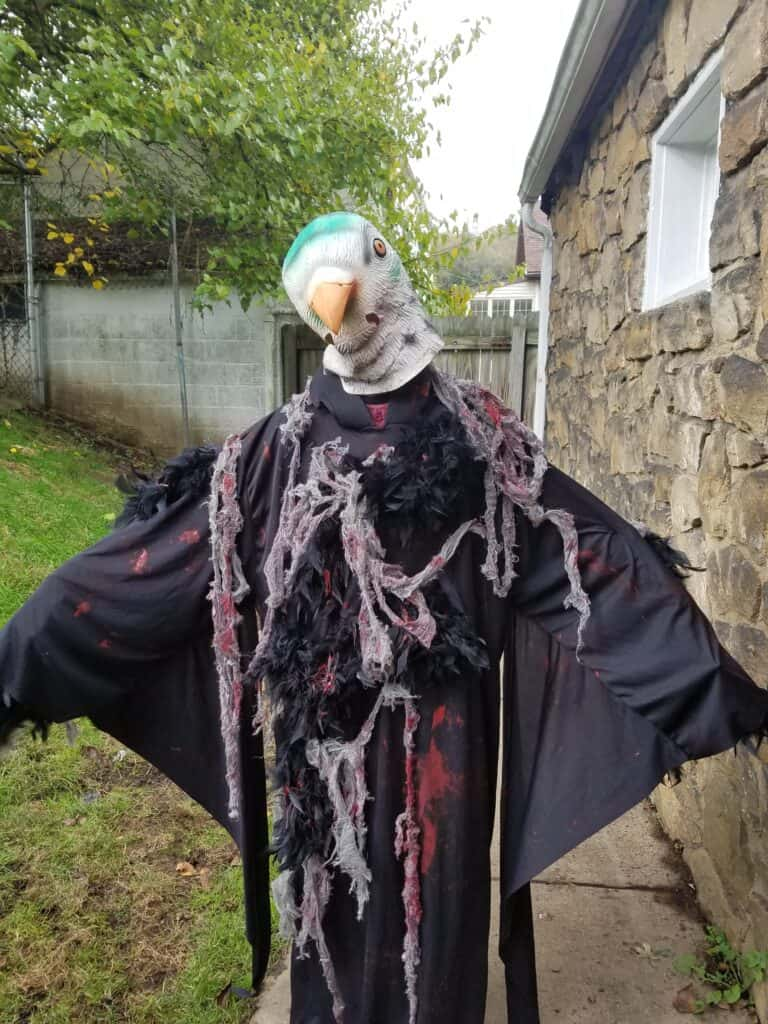 Creepy Bird Halloween Costume