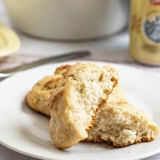 Easy 3 Ingredient Beer Biscuits