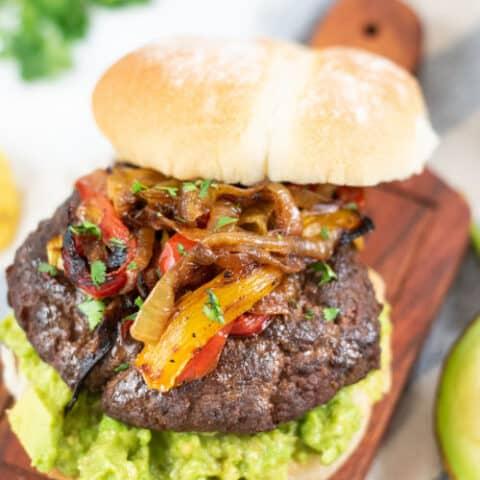Delicious Fajita Burgers