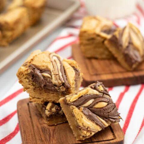 Delicious Nutella Blondies
